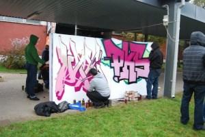 Jam graffiti - Białystok, 23.10.2009 r. (Foto #9)